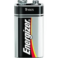 Energizer 9 Volt batteries 4 Pack