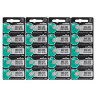 Murata 20 Pack SR927SW 395 399 Battery 1.5V Watch Batteries