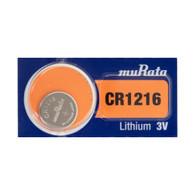 Murata CR1216 3V Lithium Coin Cell (1 Battery)