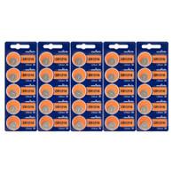 25PC Murata 1216 CR1216 Lithium Coin Battery 3V 30mAh
