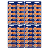 40PC Murata CR1216 Lithium Coin Cell Battery