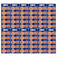 60 NEW MURATA CR1220 3V Lithium Coin Battery Expire 2028 FRESHLY NEW - USA Seller
