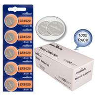 1000 MURATA CR1620 ECR1620 CR 1620 3v Lithium Battery NEW expiration 2028 Wholesale Pack