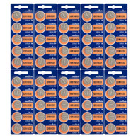 50 Pcs CR1632 CR 1632 - 3V Murata Lithium Button Cell Battery Batteries - BRAND