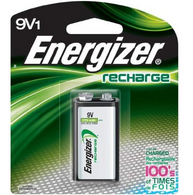 Energizer 9Volt 9V NiMH Rechargeable Battery