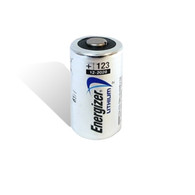 Energizer K123A Flashlight Battery (Lithium 3V 1500mAh) - Replacement For 3V Lithium Flashlight Battery