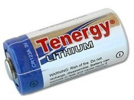 10 x Tenergy CR123A Lithium Battery PTC Protected