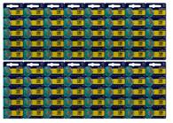 80 Pcs LR43 / 186 AG12 1.5v Murata Alkaline Button Cell Battery Batteries