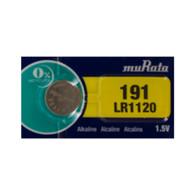Murata LR1120 (191) 1.5V Alkaline Button Cell Battery (1 Pack)