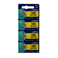 4Pcs Murata LR1130 189 Coin Cell 1.5V Alkaline Watch Battery Made in Japan