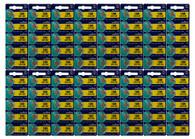 80x LR1130 Murata Cell Battery Watch Button Coin 189 Batteries