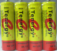 4 Tenergy Nicd AA 1000mAh rechargeable Batteries for Solar power