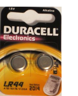 Duracell LR44 Alkaline Batteries Pack of 2