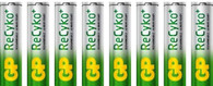 AA Rechargeable AA Batteries 8 pack NiMH GP NEW