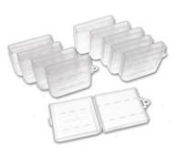 10 PCS Plastic Battery Case for AA Size Batteries