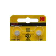 2PCS Kodak AG3 LR41 1.5V Alkaline Button Coin Cells Watch Battery US