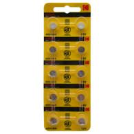 Kodak LR41 AG3 Alkaline Button Cell Battery 10 pieces