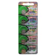 Premium New Energy - CR1225 - 5 Batteries - 3 Volt 48 mAh - CR1225