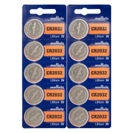 NEW 10 PK SONY CR2032 CR 2032 3v LITHIUM BATTERIES  *Replaced By Murata