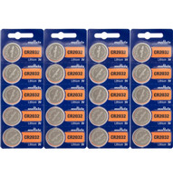 20 Pk SONY CR2032 CR 2032 3v Lithium Batteries *Replaced By Murata