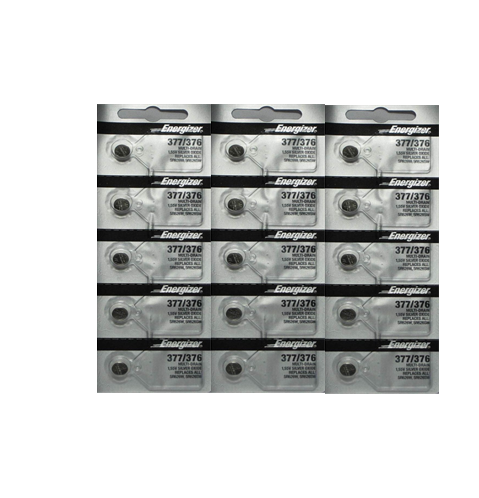 Energizer 377 376 377 376 Silver Oxide Watch Calculator