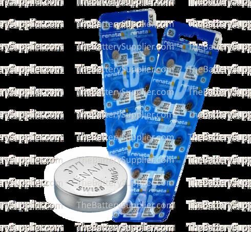 377 Sr626sw Renata Watch Batteries
