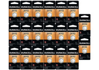 20 X DURACELL 2032 DL2032/CR2032/ECR2032 Lithium Batteries