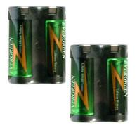 EVERGREEN 2CR5 Photo 6V 2 batteries .