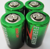 Evergreen CR2 Lithium Batteries 4 pk