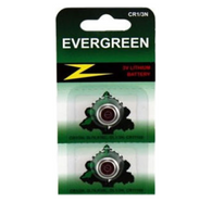 2 X CR1/3N 2L76 5008LC Evergreen Lithium Batteries