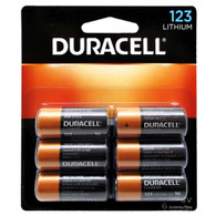 Duracell 3V High Performance Lithium Battery 123 6 Pack (packaging may vary)