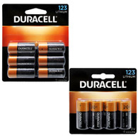 NEW DURACELL 3 volt Lithium Photo Camera Battery 123 DL123A CR123A EL123A 10 Pack (packaging may vary)