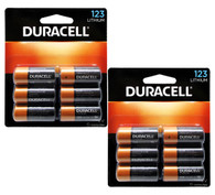 Pack of 12 (6 x 2) Duracell DL123A 3V Lithium 123A Batteries (packaging may vary)