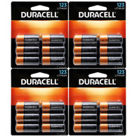 Duracell Lithium Batteries CR123 (4 X 6) 24 pk (packaging may vary)