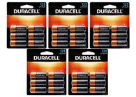 Duracell Photo 3-Volt Lithium 123 Batteries, Pack Of 30 (packaging may vary)