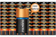 Duracell DL123A Ultra Lithium Batteries CR123A 1000 Wholesale Pack (packaging may vary)