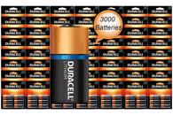 Duracell Lithium DL123 CR123A Battery | (6 x 500) 3000 Wholesale Pack (packaging may vary)