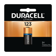 DL123A Duracell Ultra Lithium 1 Batteries-CR123A (packaging may vary)