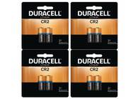 8 x Duracell CR2 3 Volt Lithium Batteries (4 Cards of 2) (packaging may vary)