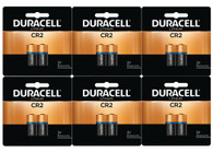 12 x Duracell 3V CR2 Lithium Battery (packaging may vary)