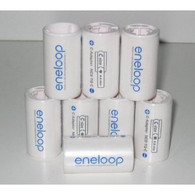 Sanyo Eneloop Spacer Pack: 8 Pack of C-size Adapters [Hassle Free Packaging]