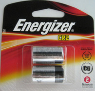 2 Pk Energizer CR2 EL1CRBP-2 3-Volt Lithium Photo Batteries