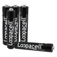 Loopacell 5pk AAAA Batteries