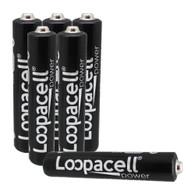 Loopacell 6 New AAAA Batteries