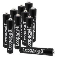 Loopacell 1.5-Volt AAAA Alkaline Batteries 10 Pack