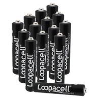 Loopacell AAAA Batteries 1.5V Alkaline AAAA Battery (14 Pack)
