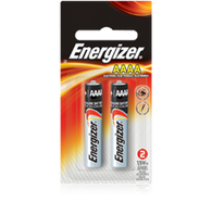 2 Pack Batteries AAAA Energizer - E96BP-2