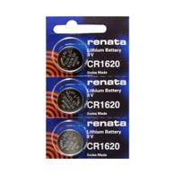 3 Pack, Renata-CR1620-3V-Lithium-Battery