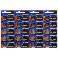 Renata CR1620 Lithium Coin Cell 3V Battery 20 Pack