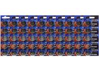 Renata CR1620 3V 68 mAh Lithium Coin Battery Pack of 50
